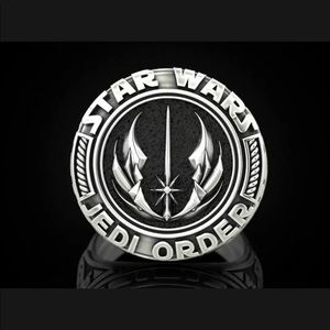 Star Wars Jedi Order Stainless Steel Ring NWT